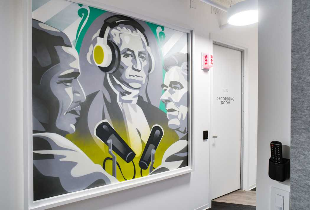 cool office murals